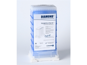 TOWER PACK, D1000ST, REFILL OF 672 TIPS