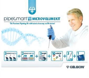 PIPETMAN G MICRO-VOLUME KIT